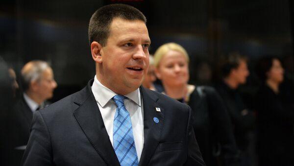 Премијер Естоније Јури Ратас на самиту ЕУ у Бриселу - Sputnik Србија