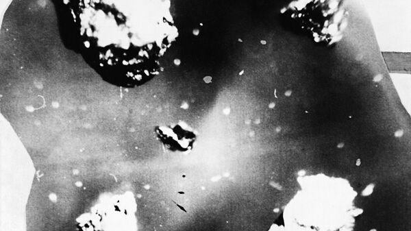 Dijamantno-grafitni spojevi sa mesta pada Tunguskog meteorita na reci Podkamenaja Tunguska u blizini sela Vanavara u Krasnojarskoj oblasti. - Sputnik Srbija