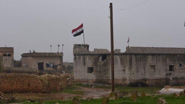 Долазак сиријске војске у околину сиријског Манбиџа - Sputnik Србија