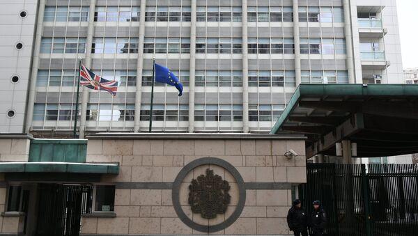 Зграда амбасаде Велике Британије у Москви - Sputnik Србија