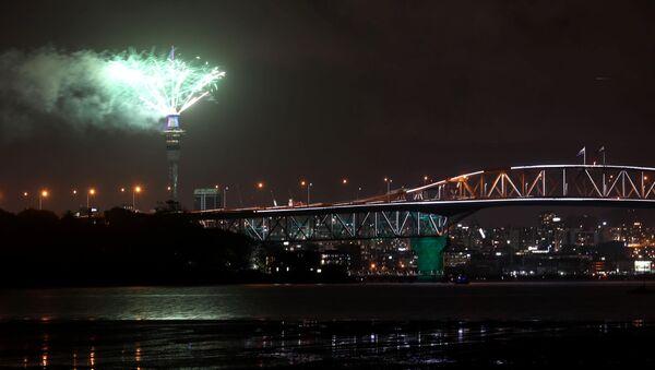 Дочек Нове године у Окланду - Sputnik Србија