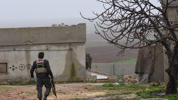 Сиријска војска у Манбиџу - Sputnik Србија