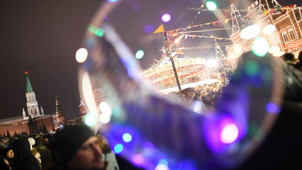 Nova godina u Moskvi - Sputnik Srbija