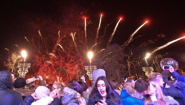 Doček Nove godine u Beogradu - Sputnik Srbija