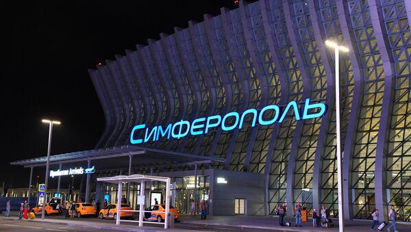 Terminal međunarodnog aerodroma u Simferopolju - Sputnik Srbija