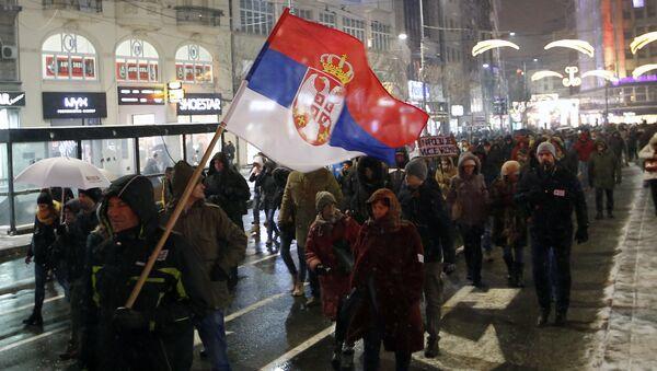 "Protest ""Jedan od pet miliona"" u Beogradu - Sputnik Srbija"