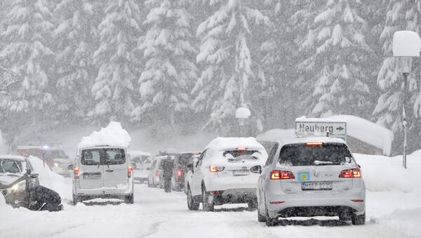 Haos u Austriji zbog snega - Sputnik Srbija