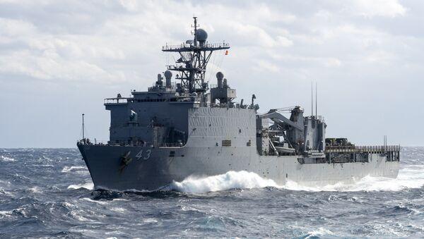 Američki desantni brod Fort Mekhenri - Sputnik Srbija