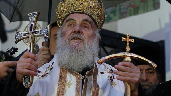 Патријарх Иринеј: Нека бог благослови и наше Косово, тај наш свети крај, нашу свету земљу, наш Јерусалим - Sputnik Србија