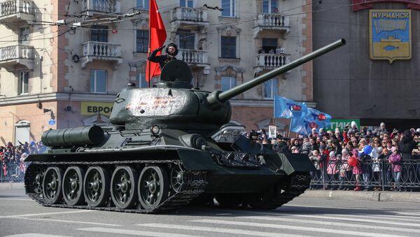 Tenk T-34 - Sputnik Srbija