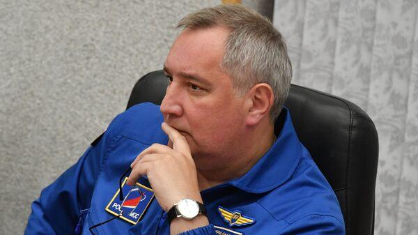 Генерални директор руске државне корпорације Роскосмос Дмитриј Рогозин - Sputnik Србија