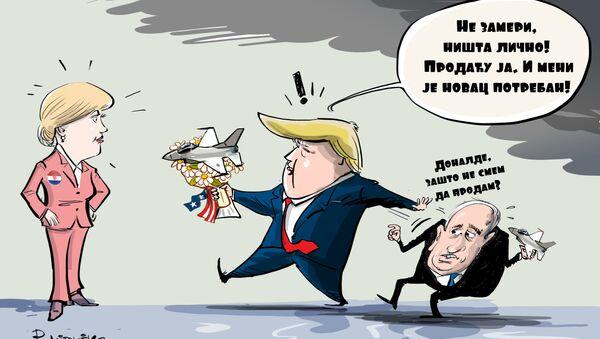 Ко ће продати авионе Колинди? - Sputnik Србија