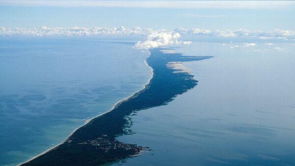 Пешчано полуострво Куршка превлака које одваја Балтичко море од Куршког залива - Sputnik Србија