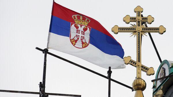 Srpska zastava  - Sputnik Srbija