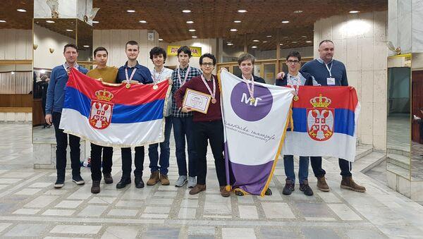 Ученици Математичке гимназије, шампиони Олимпијаде у Алмати - Sputnik Србија