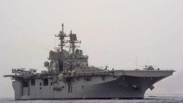 Амерички десантни брод Америка (ЛХА-6) - Sputnik Србија