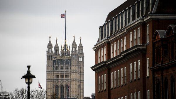 Викторијина кула у Вестминстерској палати у Лондону - Sputnik Србија