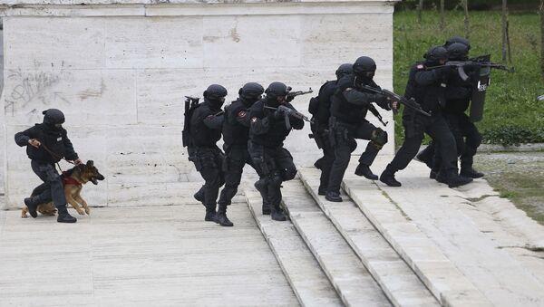 Albanska specijalna policija - Sputnik Srbija