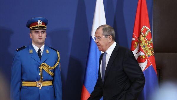 Министар спољних послова Русије Сергеј Лавров у Београду - Sputnik Србија