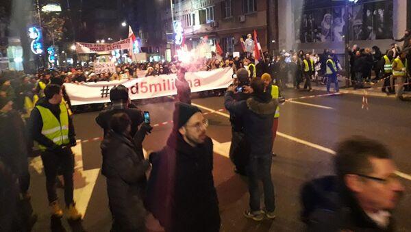 Protest 1 od 5 miliona - Sputnik Srbija