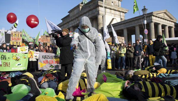 Protest u Berlinu - Sputnik Srbija