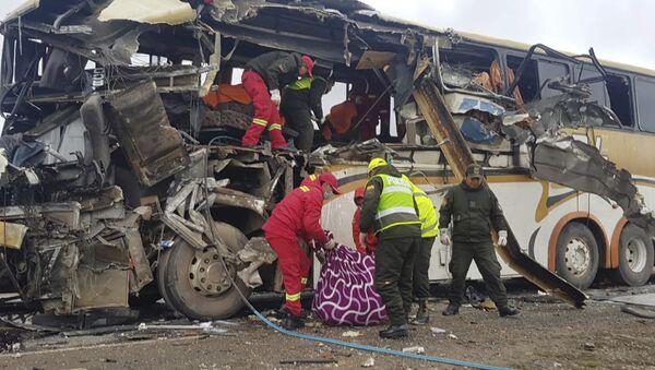 Nesreća u Boliviji - Sputnik Srbija