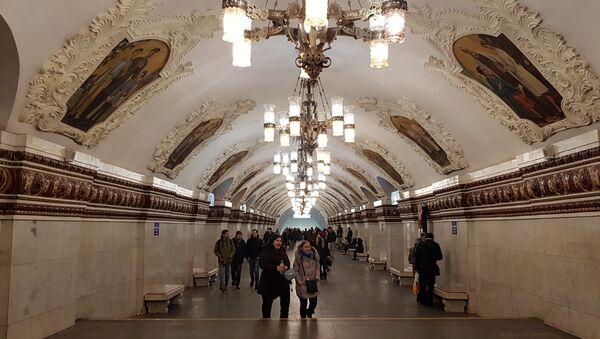 Московски метро - Sputnik Србија