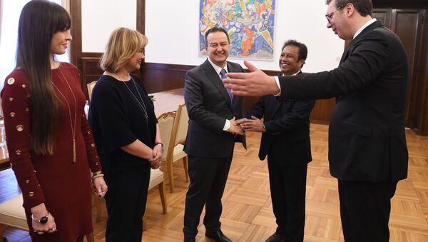 Predsednik Palaua u Beogradu - Sputnik Srbija
