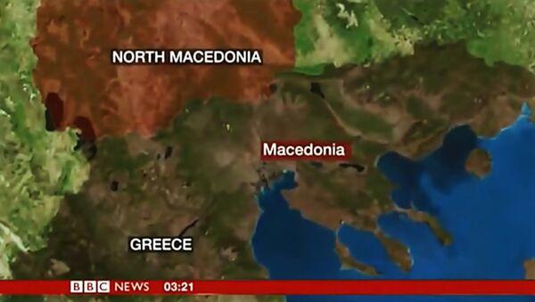 Ciprasov video snimak o Prespanskom sporazumu - Sputnik Srbija