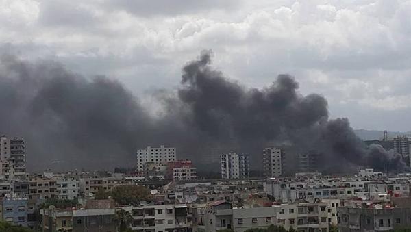 Eksplozija u Siriji - Sputnik Srbija