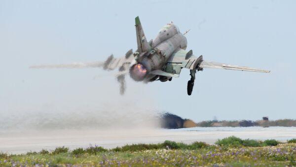 Сиријска авијација на аеродрому Шајрат - Sputnik Србија