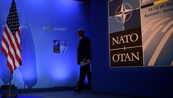 Доналд Трамп у седишту НАТО-а - Sputnik Србија