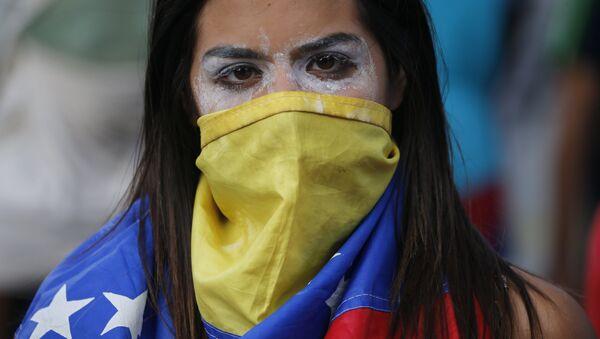 Протест у Венецуели - Sputnik Србија