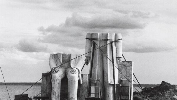 Izložba Na putu oko sveta. Umetnost iz Nemačke u Muzeju savremene umetnosti u Beogradu, fotografija Sibil Begerman iz kolekcije Spomenik - Sputnik Srbija
