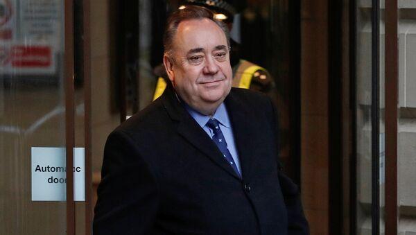 Бивши премијер Шкотске Алекс Салмонд - Sputnik Србија