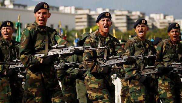 Los soldados venezolanos - Sputnik Србија