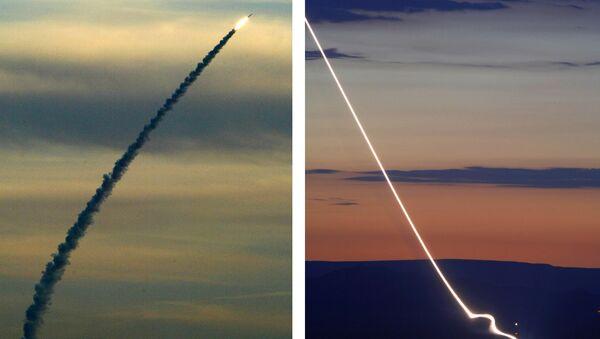 Израелски систем Хец-3 (Стрела-3) - Sputnik Србија