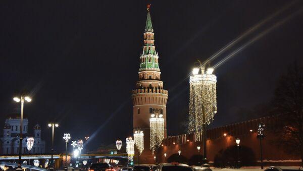 Кремљ ноћу - Sputnik Србија