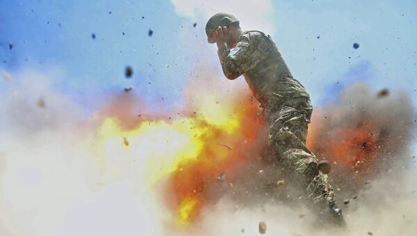 Амерички војник у Авганистану - Sputnik Србија