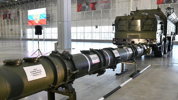 Демонстрација ракете 9М729 за стране војне аташее у Москви - Sputnik Србија