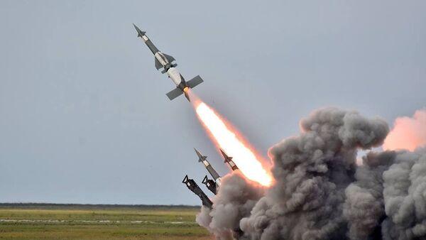 Лансирање ракета на војним вежбама копнених снага Украјине - Sputnik Србија