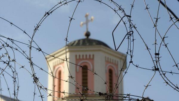 Crkva Svetog Save u južnom delu Kosovske Mitrovice - Sputnik Srbija