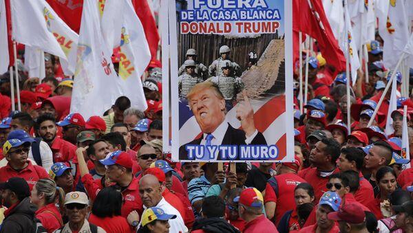 Protest protiv Trampa u Venecueli - Sputnik Srbija