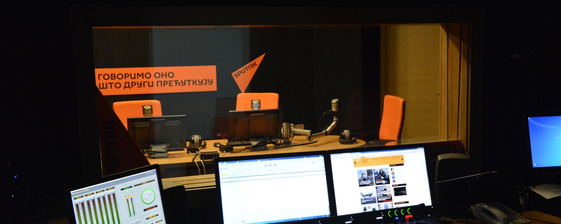 Студио агенције Спутњик Србија - Sputnik Србија, 1920, 03.09.2021