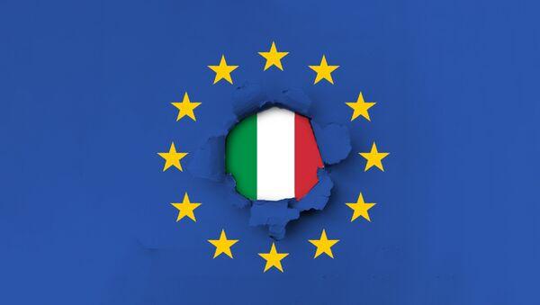 EU  Italija - ilustracija - Sputnik Srbija