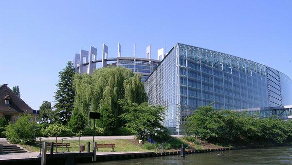 Zgrada Evropskog parlamenta u Strazburu - Sputnik Srbija