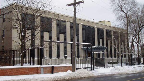 Ambasada Rusije u Otavi u Kanadi - Sputnik Srbija