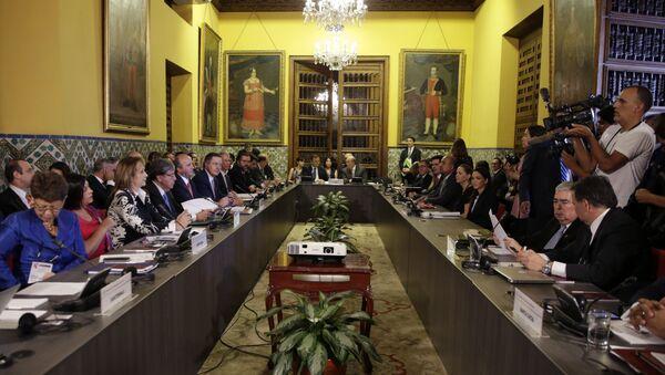 Ministri spoljnih poslova Grupe Lima tokom sastanka o Venecueli - Sputnik Srbija