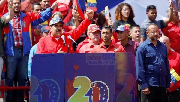 Predsednik Venecuele Nikolas Maduro - Sputnik Srbija
