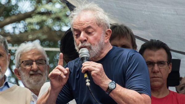 Bivši brazilski predsednik (2003-2011) Luis Inasiu Lula da Silva - Sputnik Srbija